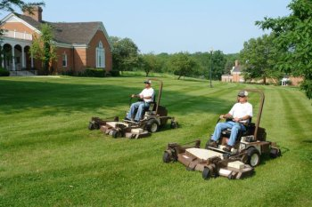 Striping, cut quality sets Ohio landscaping company apart