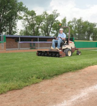 School district saves money, man-hours with fleet of Grasshoppers and attachments