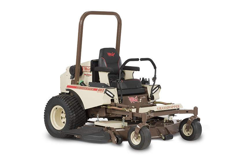 MidMount 400D 1 3L   Grasshopper Mower