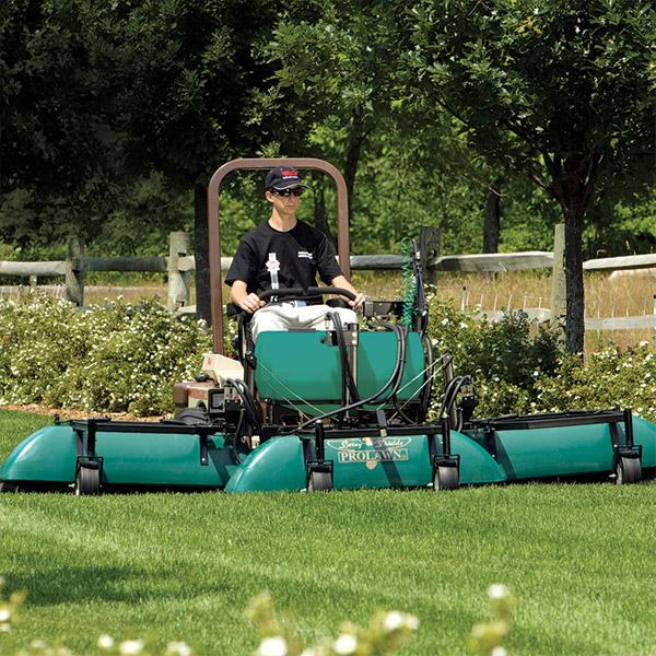 Shielded Sprayer Grasshopper Mower