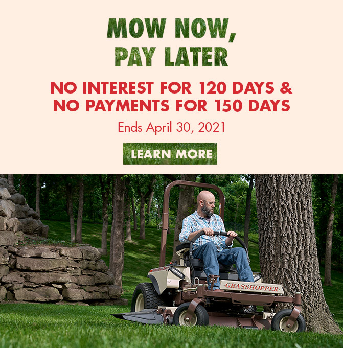Mow Now Pay Later Promo