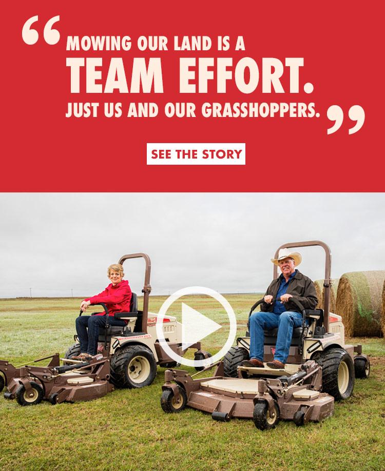 Grasshopper Mowers - The Original Zero Turn Mowers