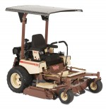 sunshade canopy skin cancer zero turn mowers