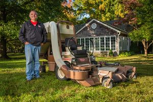 Aaron Godsey, owner of Godsey Lawn Care