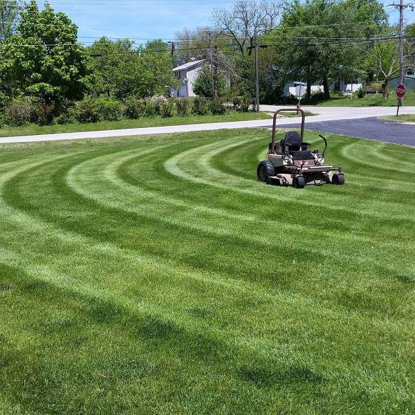 Mowing Patterns Lawn Stripes Zero Turn Mower