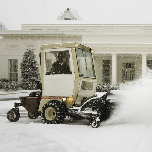 Snow Removal Grasshopper Mower