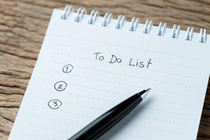 Lawncare To Do List